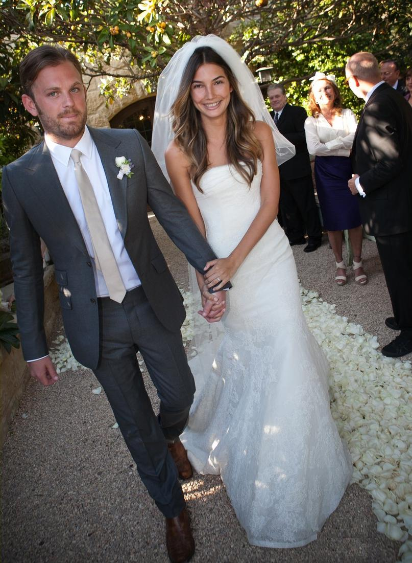 caleb-followill-weds-lily-aldridgeLily Aldridge And Caleb Followill 2014