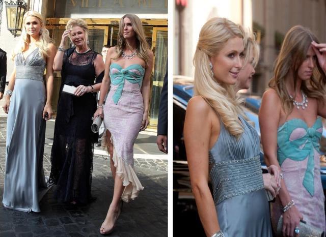 Paris, Kathy e Nicky Hilton
