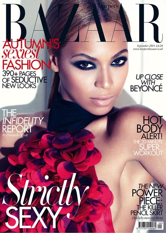 Beyonce na capa da Inglaterra