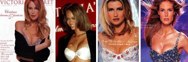 Fantasy Bra 1996, 1997, 1998 e 1999